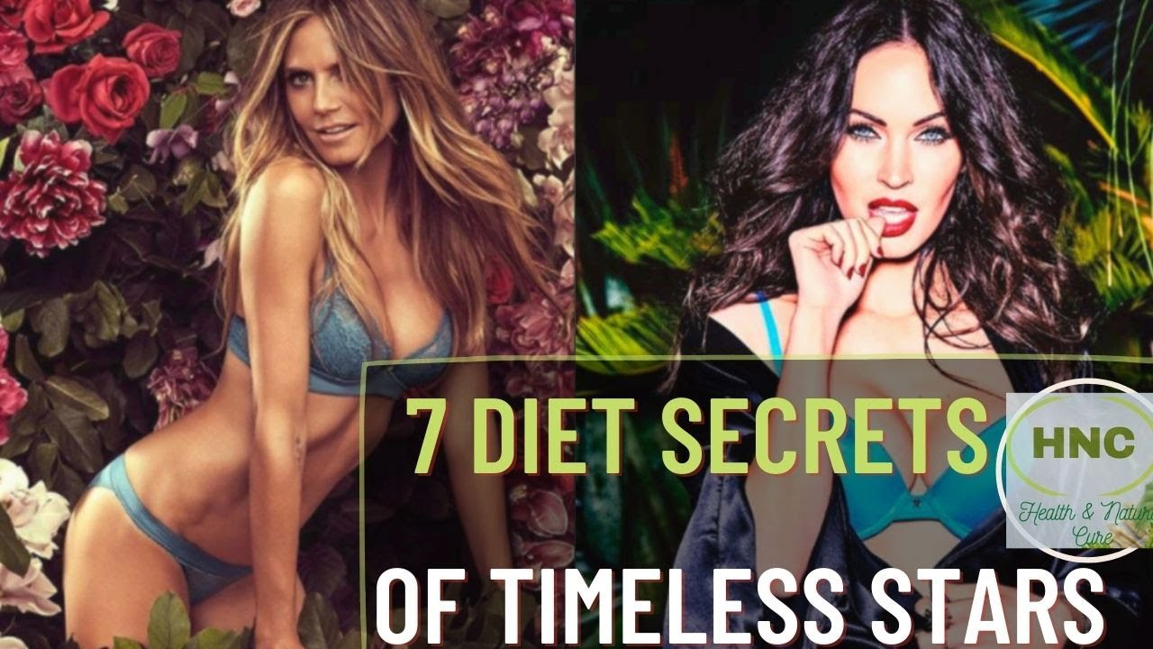 7 Diet Secrets of the Stars(Staying Fit Naturally)